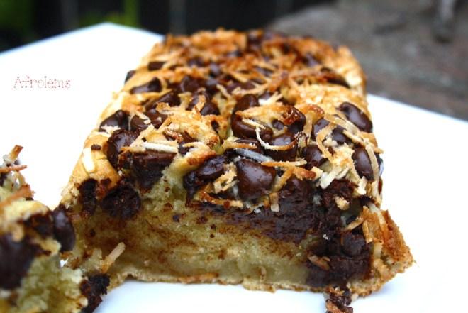 coconut chocolate banana bread