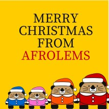 Merry Christmas from Afrolems