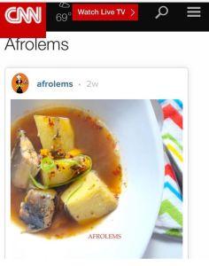 afrolems cnn african food blogs