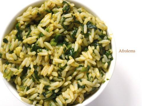nigerian vegetable rice