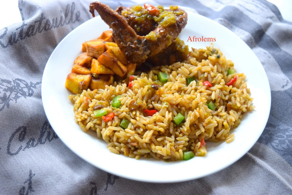 how to make ayamase jollof
