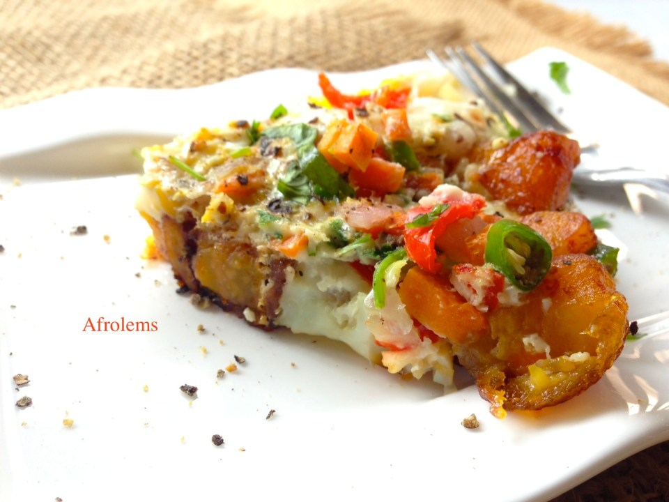 plantain-and-egg-pizza