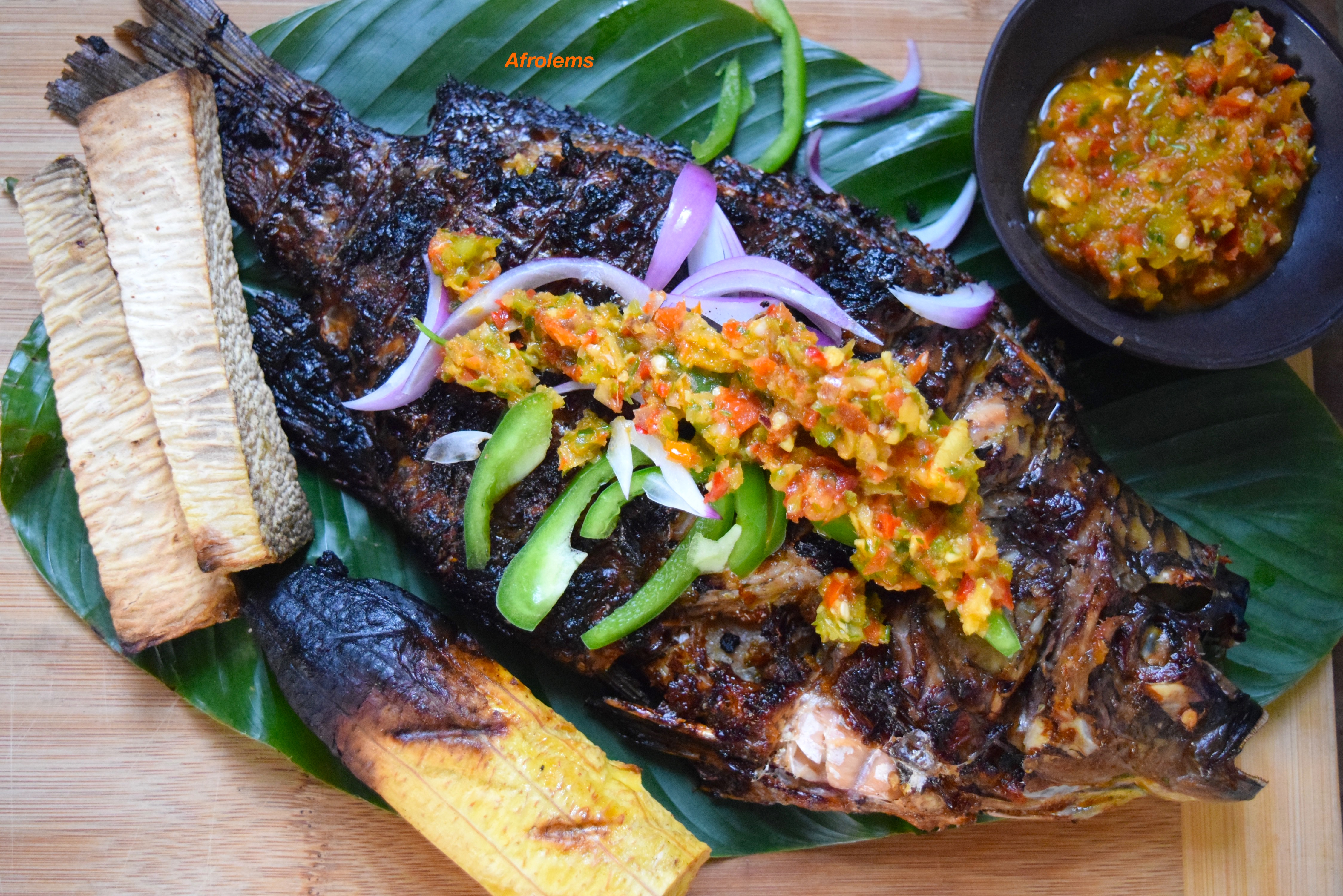 Nigerian barbecue fish recipe afrolems nigerian food blog watch a video tutorial on how to make this dish on our youtube channel and dont forget to subscribe forumfinder Choice Image