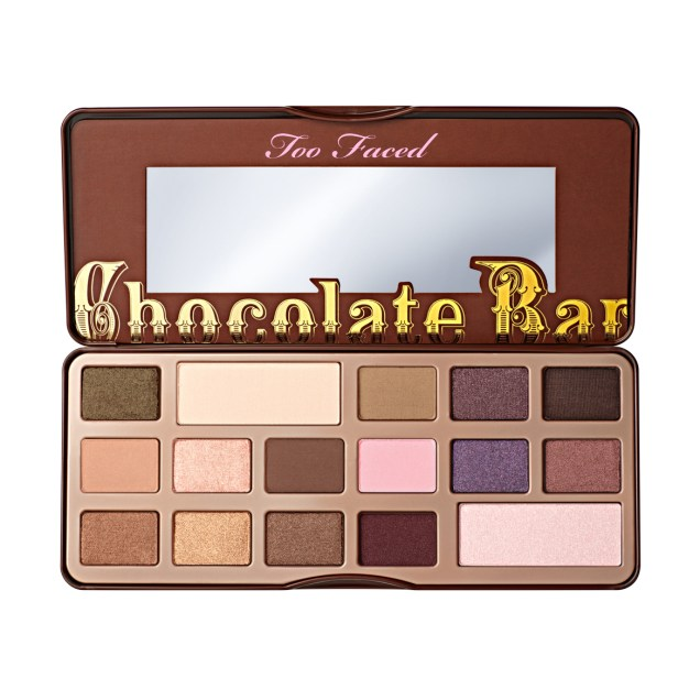 palette chocolatebar_open TOO FACED
