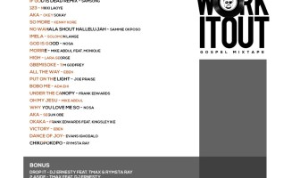 DJ Ernesty Work It Out Gospel Mixtape