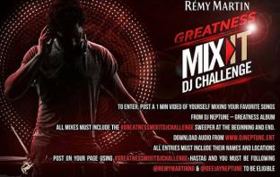 DJ Neptune presents #GreatnessMixItDJChallenge on his Remy Martins Greatness Tour