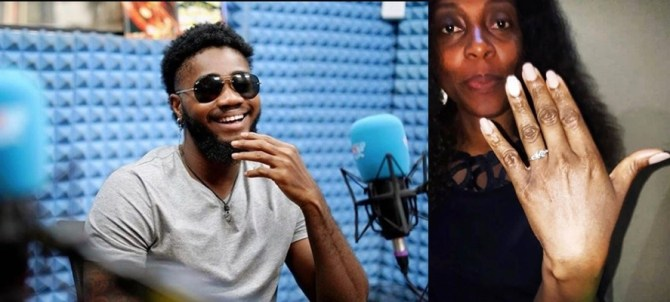 #BBNaija: My fiancee is 42 years old- Praise debunks BrightO's claim that his woman is over 60 (video)