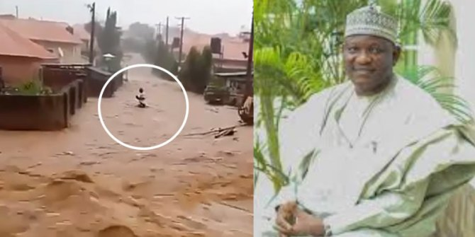 Identity of man drowned in viral video revealed as FEMA recovers body in Abuja