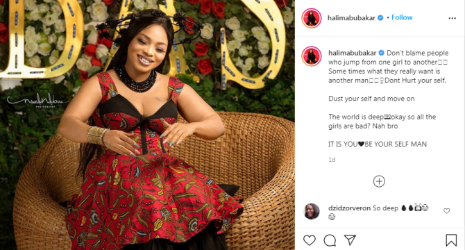 Men who jump from one woman to another are likely gay, Halima Abubakar blows hot