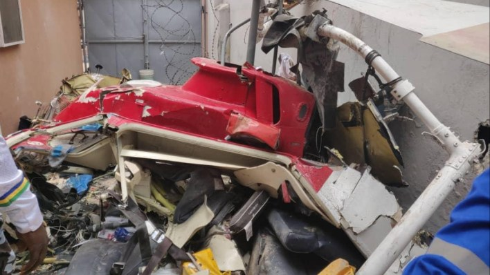 People stole phones and cash of Lagos helicopter crash victims, Eyewitness reveals