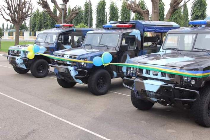 PHOTOS: IGP, Adamu receives operational vehicles from Innoson