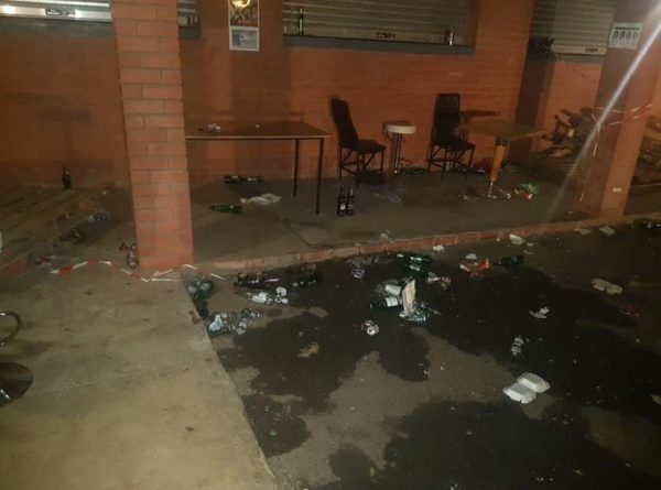 44 partygoers arrested 23 cars seized at illegal KZN party