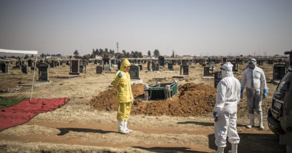 No burials for the next two days as undertakers undergo national shutdown