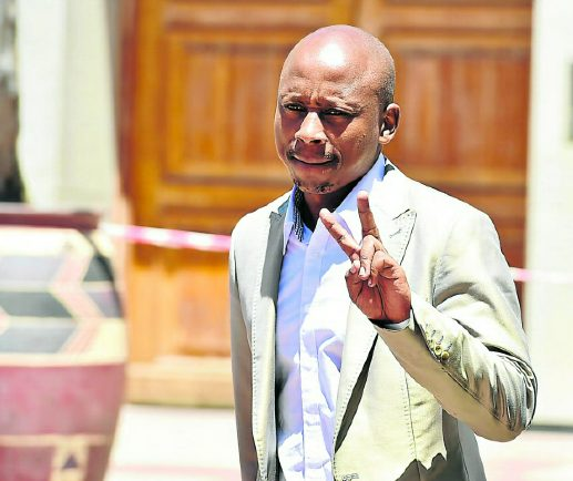 Inmate Andile Lungisa's set to appeal jail term in the ConCourt