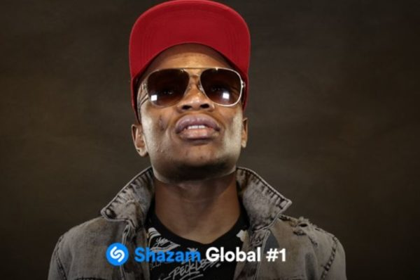 Shazam celebrates Master KG for hitting number 1 globally
