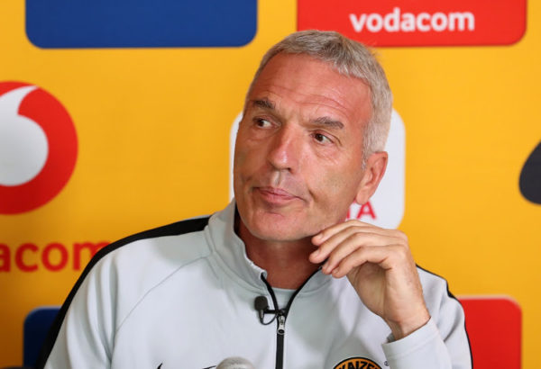 Breaking News: Ernst Middendorp fired by Kaizer Chiefs