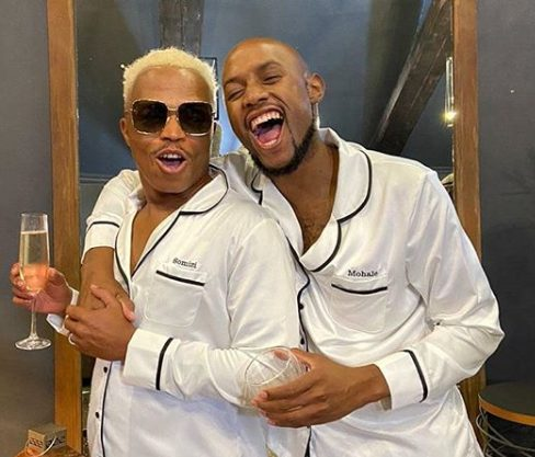 Watch: Somizi going on holiday with husband, Mohale