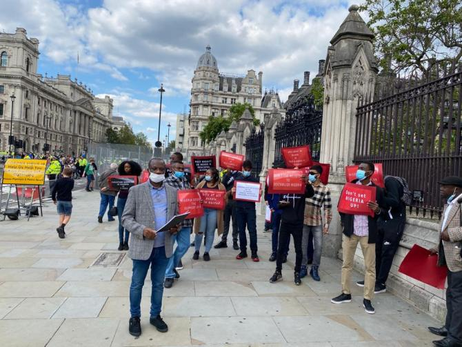 Alleged Christian Genocide: Commonwealth activists protest at UK Parliament over falsehood in APPG report