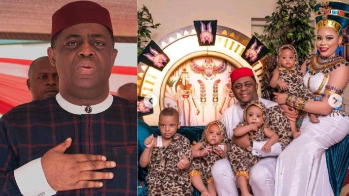 Femi Fani-Kayode disgraced for showering love and praises on 3rd wife amidst marriage crisis with 4th wife