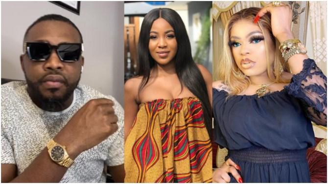 Bobrisky and instagram big boy, CMC fight dirty over failure to give Erica the money he promised