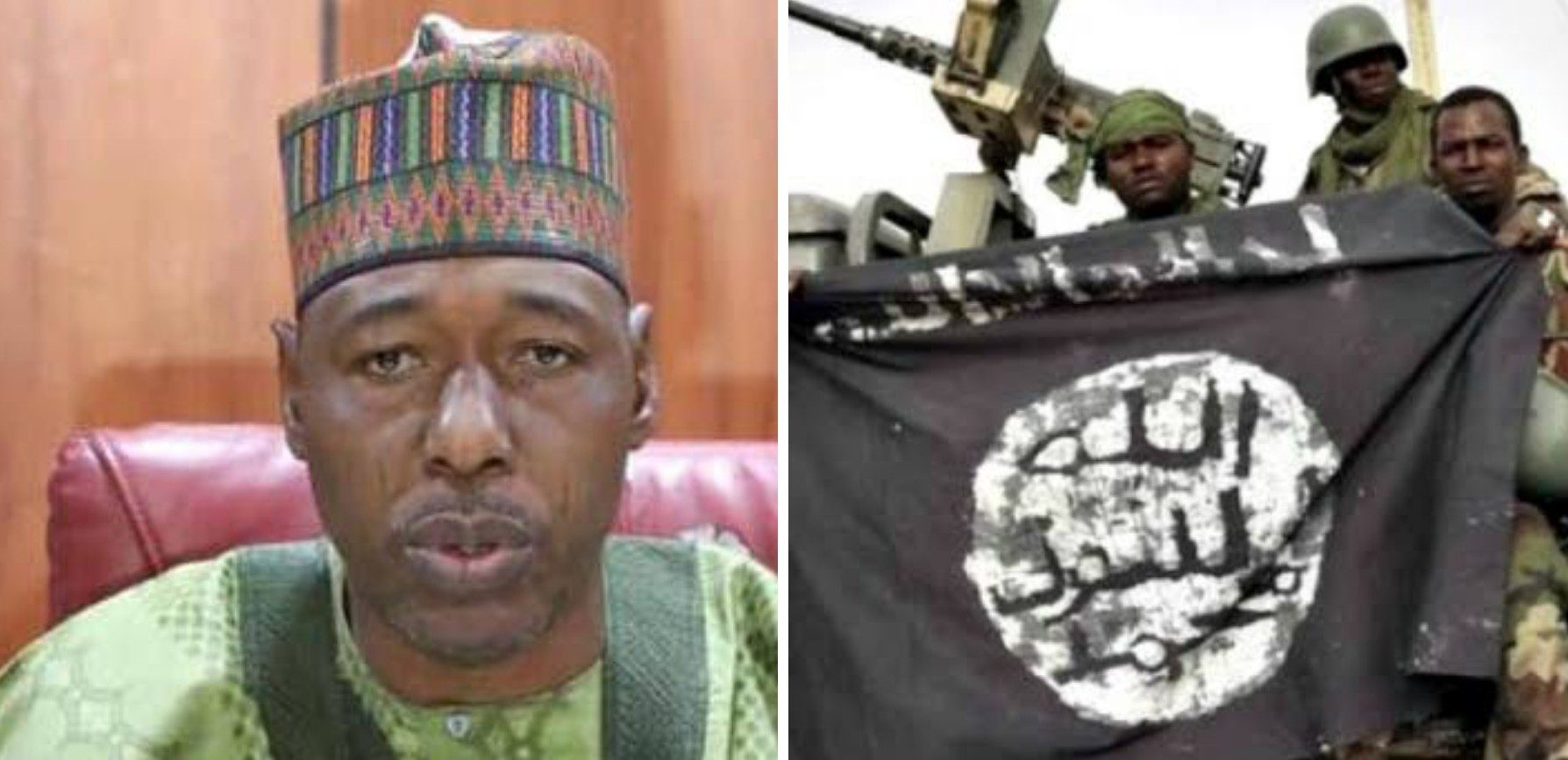 Borno Gov Zulum opens up after being attacked by Boko Haram insurgents