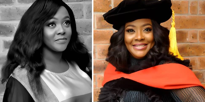Helen Paul studying to become a professor in U.S