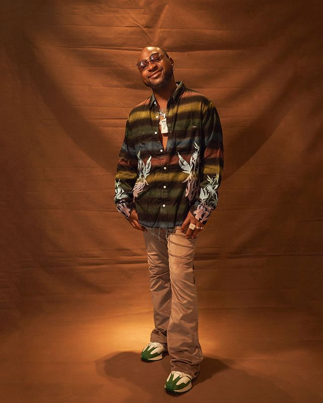 Davido shows off latest Instagram pictures