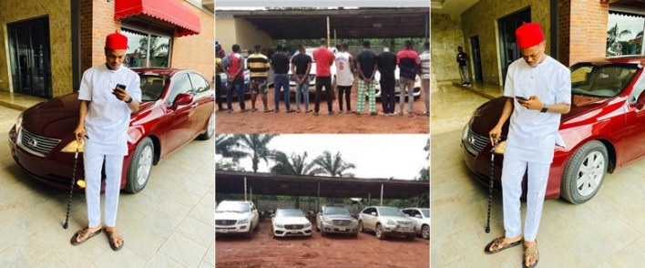 Days after his release, alleged Fraudster, Bitcoin Lord Shows off Newly Acquired Car (Photos)