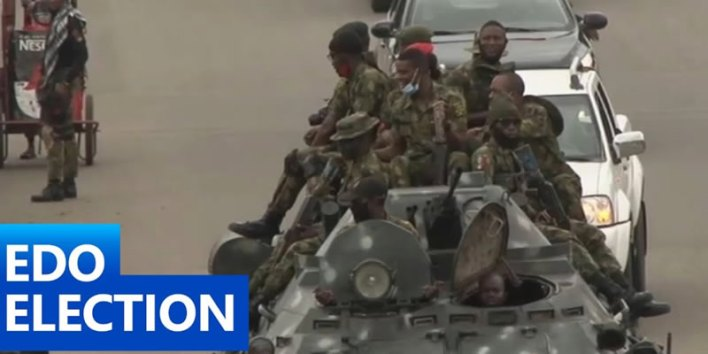 Edo Polls: Independent observers laud Nigerian Army, others over peaceful conduct