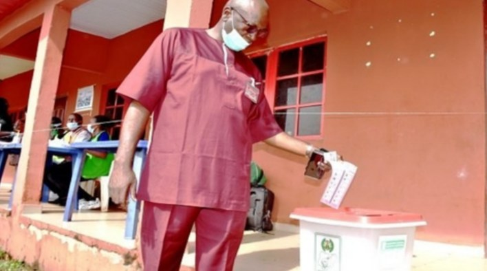 EdoDecides2020: Ize-Iyamu reacts on electoral process, confident of victory