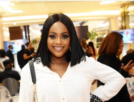 Omuhle Gela on pressure to get her body back in shape