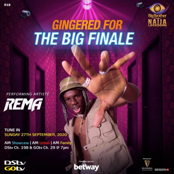 List of artistes set to perform at BBNaija grand finale