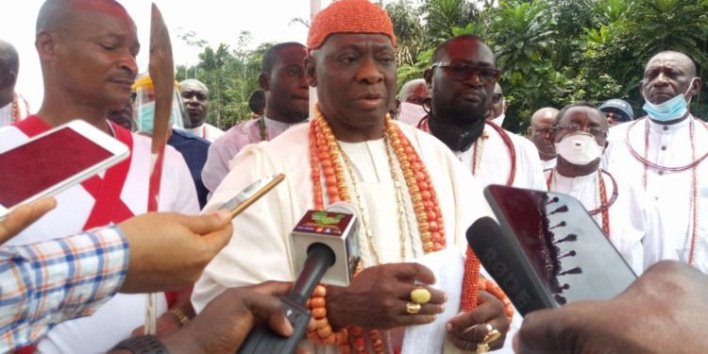 Olu of Warri calls for completion of abandoned Koko-Ogheye Road in Delta
