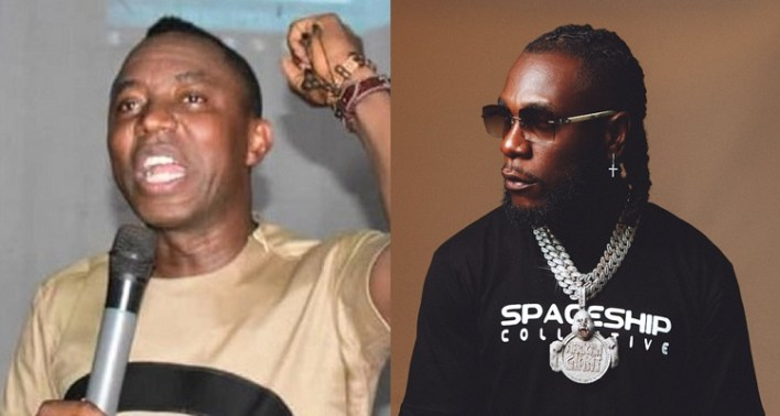 Omoyele Sowore challenges Burna Boy to join #RevolutionNow protest