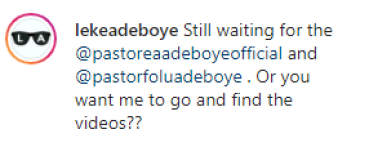 Pastor Adeboye's son, leke 'begs' Freeze to apologize to his father after he asked Adeboye for forgiveness