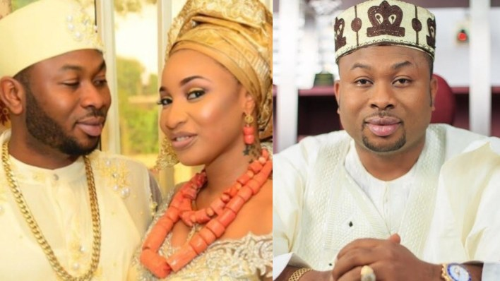 Photo: Tonto Dike's ex husband, Churchill shares his near death experience from a motor bike accident
