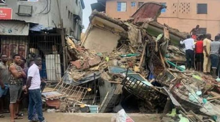 Survivor narrates how he jumped off collapsing storey building
