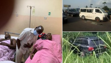 UPDATE: 2 other Aides in critical condition, more photos from Oshiomhole's convoy accident