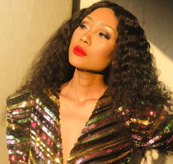 Zoe Mthiyane suffers emotional breakdown following her breakup with Rapulana Seiphemo