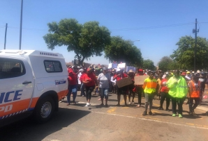 Dobsonville residents march to the police station over high crime rate