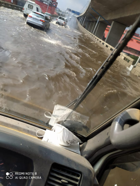 Afternoon storms hit Joburg as roads get flooded