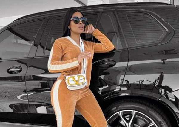 Kefilwe Mabote dragged for allegedly dating Edwin Sodi after his cars got seized