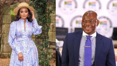 Mihlali Ndamase reacts to report of being an ex-lover to businessman Edwin Sodi