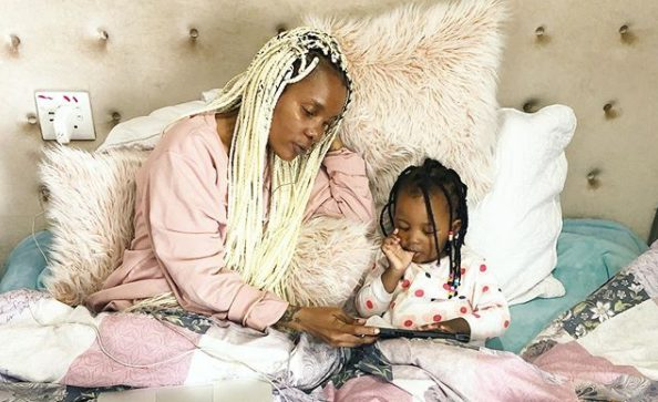 Mome Mahlangu's daughter, Te Amo turns 2 – Photos