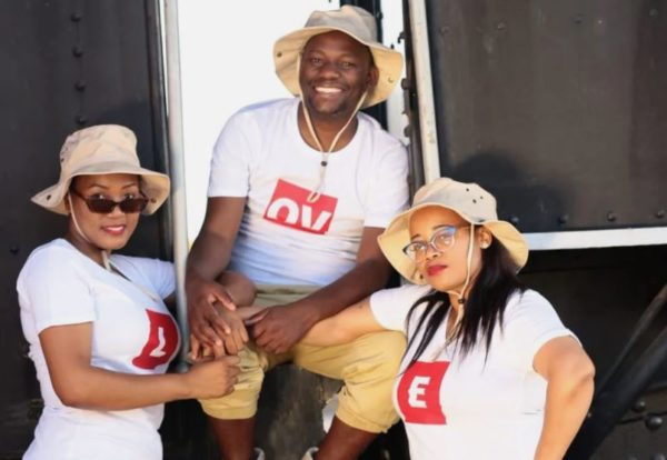 Popular pastor proudly shows off his 2 wives and children