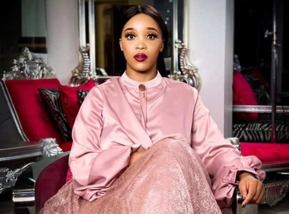 """Sbahle Mpisane goes topless again – """"To be well dressed you must be well nak*d"""""""