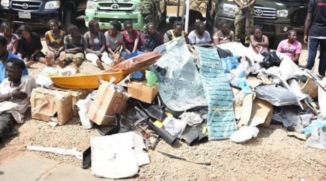 Army nab 30 suspects for looting Dogara's home in Jos