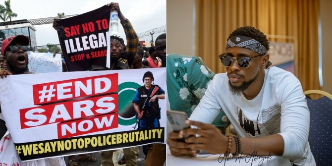 BBNaija Star, Trikytee Reacts After Being Called Out For Demanding 500k To Join #EndSARS Protest In Bayelsa
