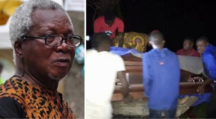 Body of late JP Clark laid to rest in Delta