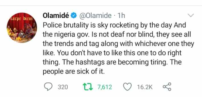Celebrities call out President Buhari on trending SARS issue
